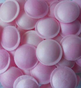 100 G / 6,39 € Bonbons & Lutscher Süßwaren ✰ 100 Rosa Oblaten Mit Brausepulver Füllung ✰ Candy Bar ✰
