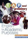 EAP Now! Preliminary Student Book: Preliminary : English for Academic Purposes by Kathy Cox, David Hill (Paperback, 2007)