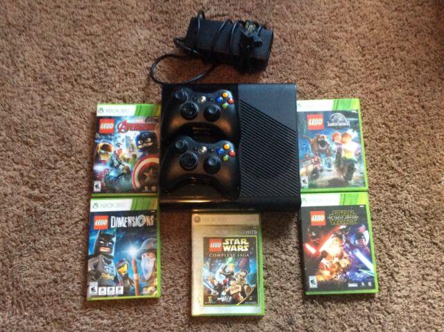 Microsoft Xbox 360 E 4gb Black Console For Sale Online