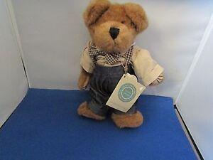 Boyds Bears Plush T DEAN NEWBEARGER Fabric Gcc Exclusive Teddy Bear 948656Gcc