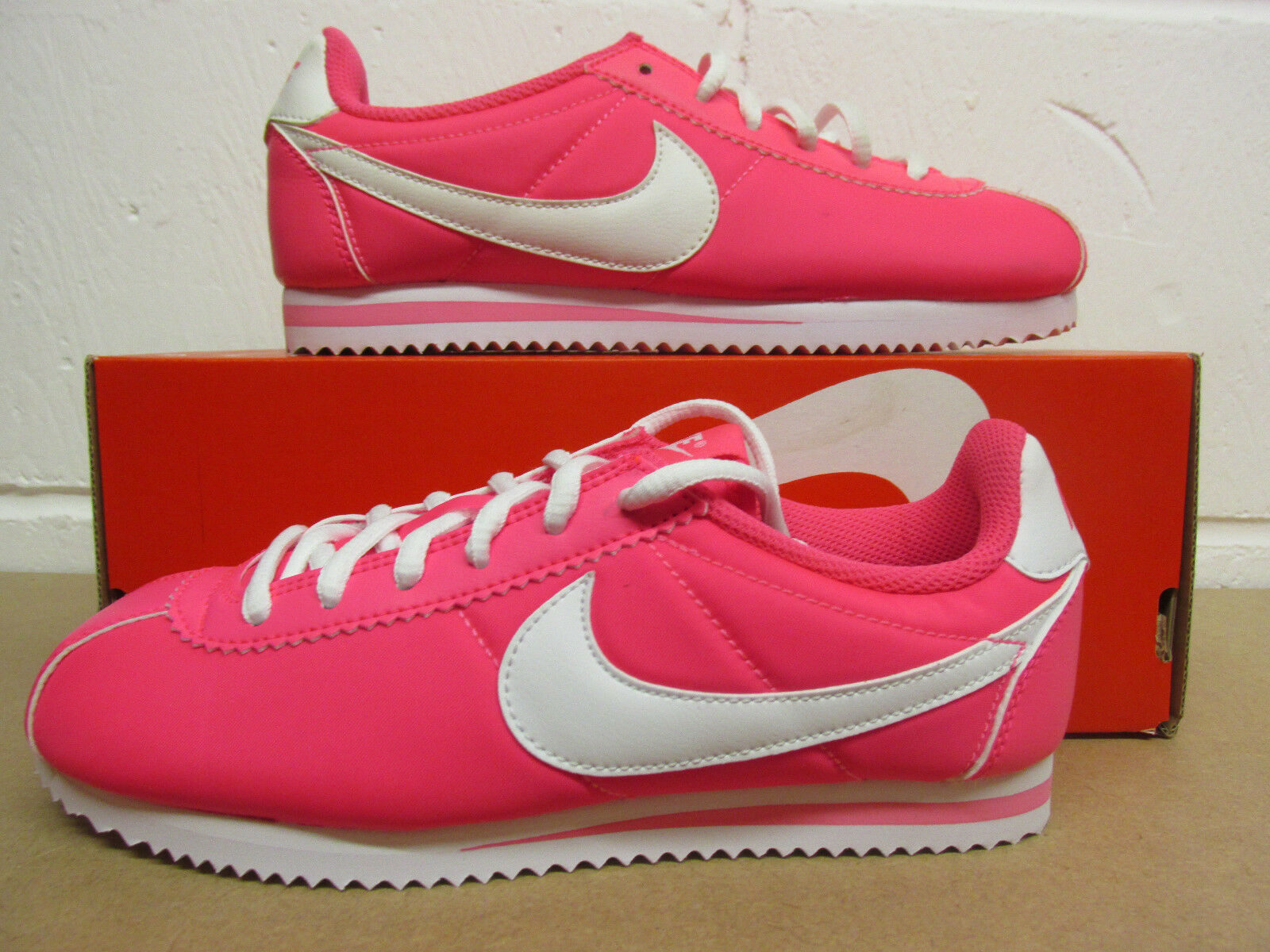 Nike Cortez Nylon (GS) Trainers 749512 601 Sneakers Shoes