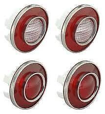 1975 - 1979 Corvette Tail Lights & Backup Lights GM Restoration. Light Set