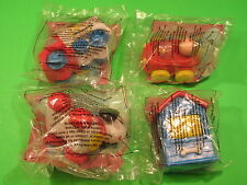 1996-99 McDonalds - Fisher-Price Toddler Toys - Group E - Set of 4 *MIP*