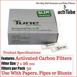 actiTube-EX-Tune-fina-Cigarrillo-Carbono-Filtros-50-por-caja-1-2-3-5-8