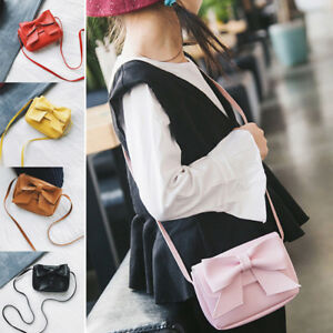 e40c4aebeb68c1 New 1PC Kids Girls Bag Shoulder Bags Mini PU Crossbody Bag Cute ...