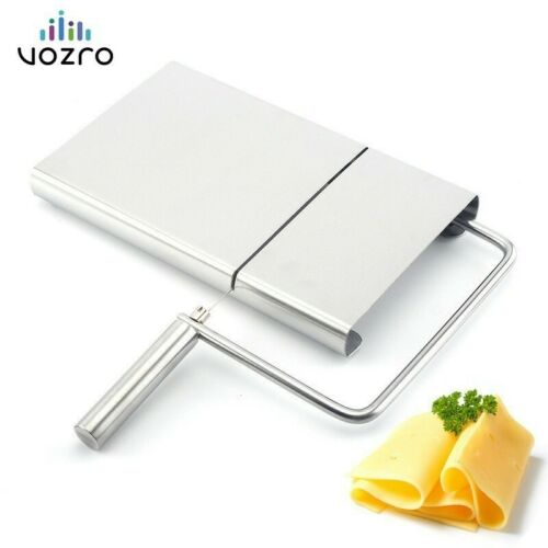 VOZRO inoxydable fromage trancheuse râpe Section beurre déchiqueteuse planche à