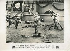 FREDRIC MARCH THE SIGN OF THE CROSS 1932 LOBBY CARD ORIGINAL #2 CECIL B. DEMILLE