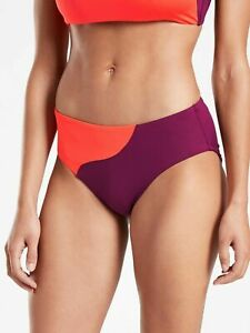 New With Tags Athleta Vintage Floral Full Bottom Vermillion Sz Small