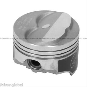 Speed Pro/TRW Chevy 350/5 7 Forged Dome Coated Pistons+MOLY Rings +