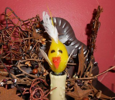 Primitive Country Rooster Silicone Handcrafted 7 Watt Light Bulb