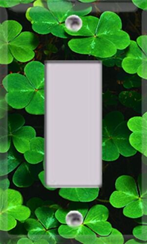 Lucky Clovers Themed Light Switch Cover Choose Your Cover Kitchen Decor