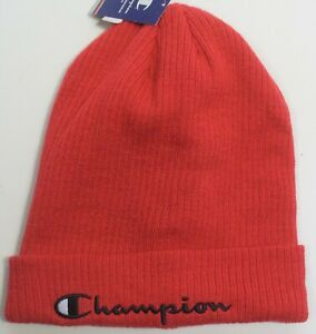 New Mens Champion  Cap Red
