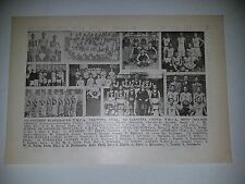 Calcutta Indiana Honolulu Hawaii Tokyo Japan 1919-20 Basketball Team Picture