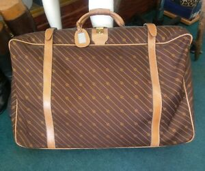 ef03fdd62eb Image is loading AUTHENTIC-VINTAGE-GUCCI-SUITCASE-30-034-X-20-
