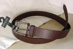 GUESS-Brown-Leather-Dress-Casual-Belt-Mens-size-42-XL-NWT-NEW-19624