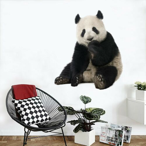 3DCute Panda G017 Animal Wallpaper Mural Poster Wall Stickers Decal Wendy