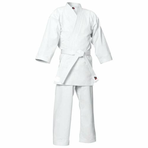 Adult Student white karate suit uniforms Mens kimono With FREE white belt