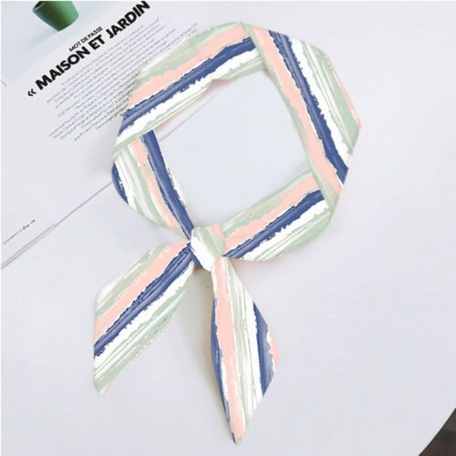 Twilly Tuch Seidentuch Tasche Schal Satin Band Haarband Schleife Griff Dekor Lot