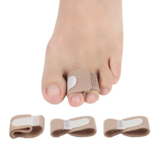 1-5X-Toe-Splints-Straightener-Bandage-Cushioned-Corrector-for-Crooked-Hammer-Toe