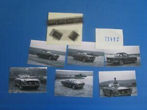 N°12498 / Triumph Tr6 Cabriolet ; 6 Retirages Et Leur Négatifs D'époque Un Style Actuel