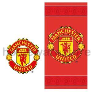 Nuevo-Oficial-De-Manchester-United-FC-Futbol-Playa-Bano-Gimnasio-Toalla-Hoja-Toallas
