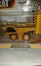 CAT CATERPILLAR 777g dump truck construction 1/98 Smallr 1/87 HO Scale Metal toy
