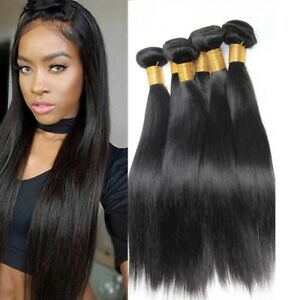 Hair Extensions & Wigs Hair Weaves Brazilian Human Hair Weave Bundles Deal Ocean Wave 3 Bundles Human Hair Estentions Double Weft Natural Color Remy Hair Weaving