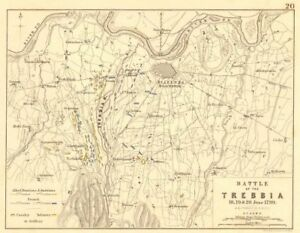 Battle Of The Trebbia 18th 19th And 20th June 1799 Italy
