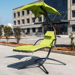 Image Is Loading Outdoor Indoor Hammock Chair Swing With Arc Stand