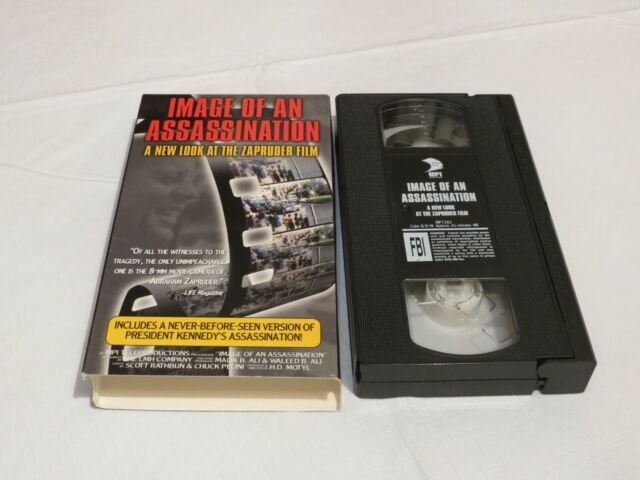 Image of an Assassination: A New Look at the Zapruder Film VHS movie tape RARE