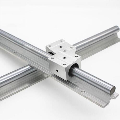 4 SBR20UU Block 2X SBR20 250mm LINEAR RAIL20MM fully suppoeted SHAFT ROD