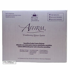 Affirm Sensitive Scalp Creme Relaxer 20 Single Applications Kit
