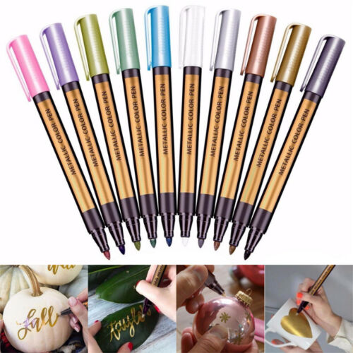 Flüssigkreide Kreidemarker Kreidestift Markierungsstift Board Marker 10 Farben