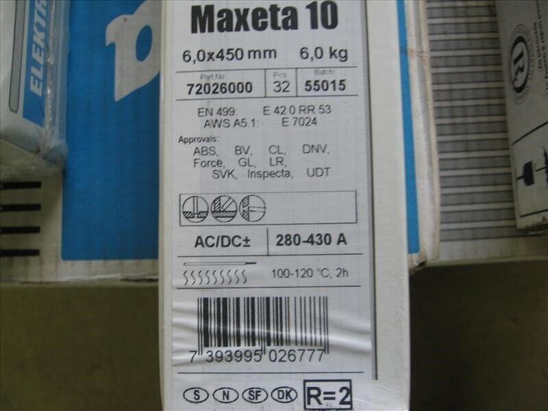 elektroder, maxeta 10
