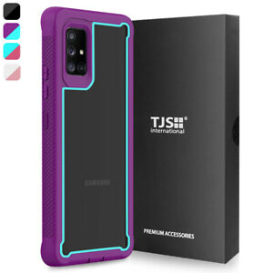For Samsung Galaxy A71 5G, Phone Case TJS Define Heavy Duty Bumper Cover