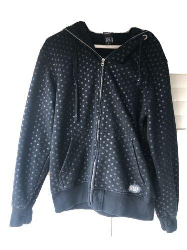 Thirty Two Mens Hooded Sweatshirt Size Small Black