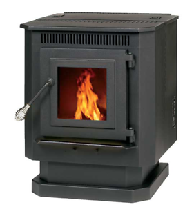 55-TRP10 PELLET BURNING STOVE F2-1,500 can ship to terminal for pick up