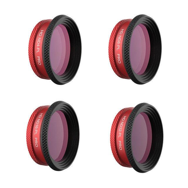 PGY Tech DJI Mavic AIR Filter Set ND4-PL ND8-PL ND16-PL ND32-PL PRO Edition AUS