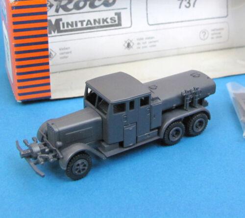 Roco Minitanks H0 737 HENSCHEL TANKSPRITZE 2,5 A EDW Wehrmacht Feuerwehr HO 1:87