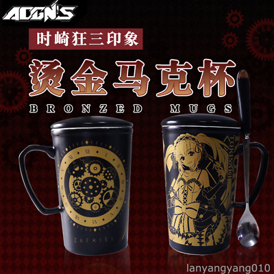 Anime DATE A LIVE Tokisaki Kurumi Cosplay Vacuum Cup Stainless Steel Gift