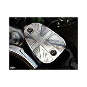 Motone Union Jack Brake Reservoir Cover Thruxton Bonneville Scrambler Polished