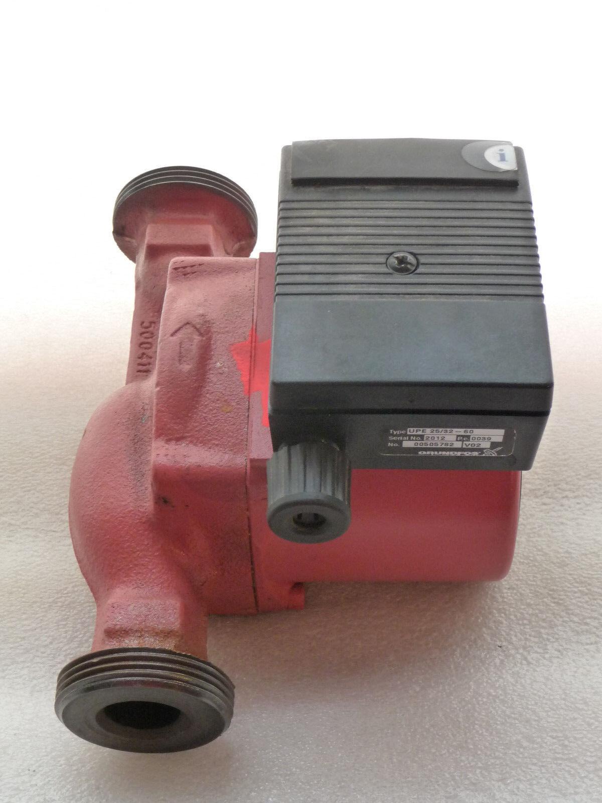 Grundfos UPE 25 - 60 Heizungspumpe 180 mm Umwälzpumpe 230 230 230 Volt gebraucht P5810 581cda