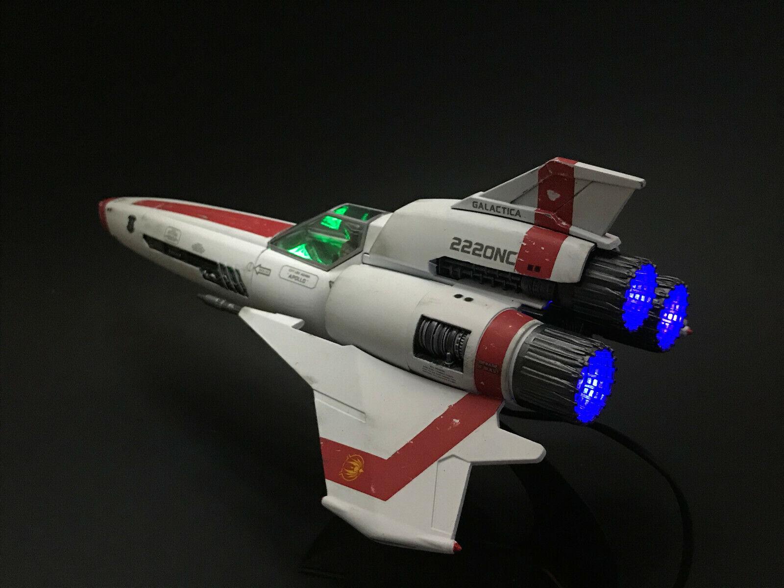 ljusING KIT ENDAST  för Moebius 1  32 slåssstjärna Galactica Colonial Viper