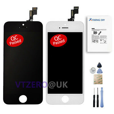 Complete LCD Display Touch Screen Digitizer Assembly Replacement For iPhone 5C
