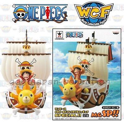 ~ Banpresto WCF One Piece ~ THOUSAND SUNNY MEGA SPECIAL STATUE MGSP!!