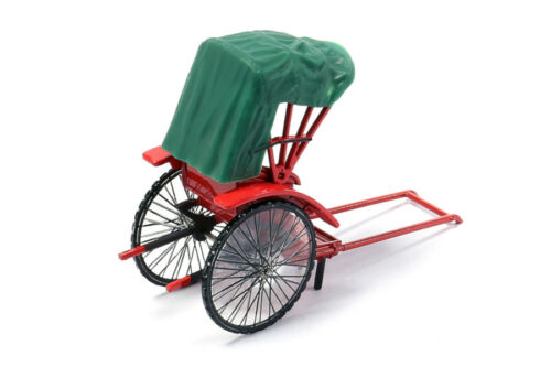 Tiny City Hong Kong Traditional Rickshaw Diecast Model with Figure