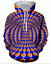 Hypnotism-Colourful-3D-Print-Women-Men-039-s-Hoodie-Sweatshirt-Pullover-tops-Jumper thumbnail 35