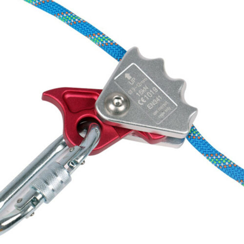 15KN Safety Tree Arborist Rope Grab Protecta Rope Grab Climbing Rappelling