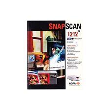 manuel d'utilisation SNAPSCAN 1212 AGFA version pour PC