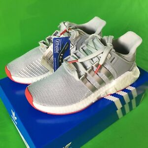 factory price daa67 0042d Image is loading Adidas-Originals-EQT-Support-93-17-BOOST-Red-